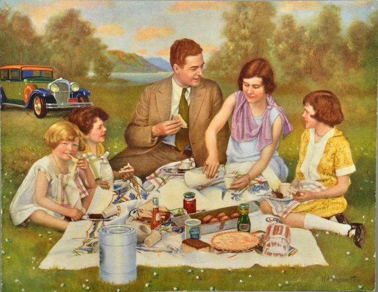 short essay on family picnic