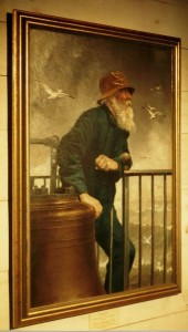 Portrait of Lighthouse Keeper Roscoe Green Lopaus